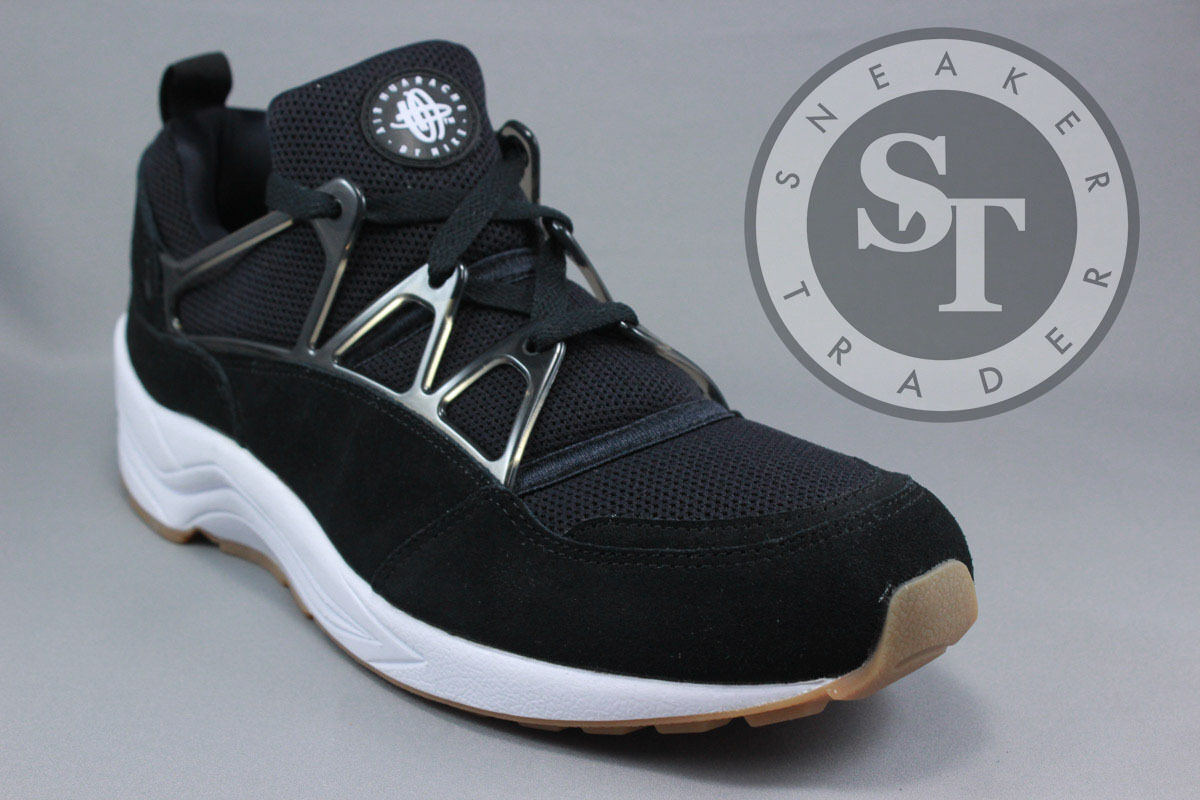 Nike air huarache luce 306127-001 bianco nero gomma dimensione: