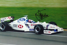 Jan Magnussen firmado, F1 Stewart-Ford SF01, Australia GP Melbourne 1997