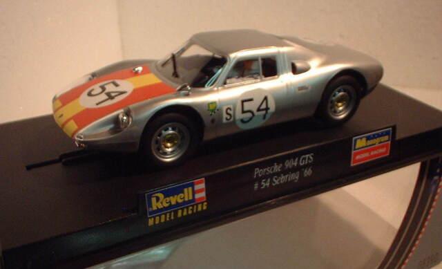 qq 08390 REVELL PORSCHE 904 GTS SEBRIG '66 # 54