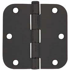 Image Is Loading Cosmas Matte Black Door Hinges 3 5 Inch