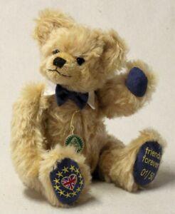 Brexit Teddy Bear 'Friends Forever' limited edition by Hermann Spielwaren