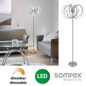 Stehlampe Led Design Stehleuchte Dimmbar Modern Beleuchtung Wohnzimmer Lampe Ebay