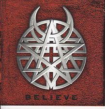 DISTURBED-CD-Believe Dismember Entombed Sepultura Kreator