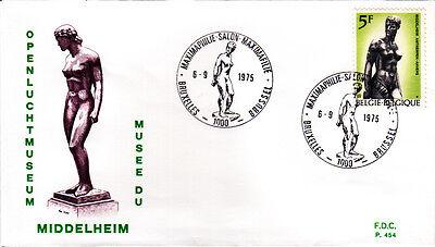 In Frank Belgien 1829 Fdc Stil; Freiluftmuseum Middelheim Modischer