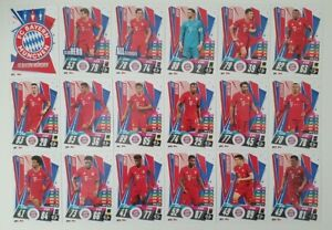 2020-21-Match-Attax-UEFA-Champions-League-Bayern-Munich-team-set-18-cards