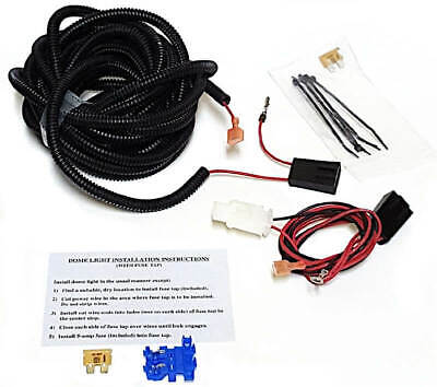[DVZP_7254]   2 Prong Third Brake Light Wiring Harness - E Kit, Truck Cap Topper   ATC  C90-806   eBay   Brake Light Wiring Harness      eBay