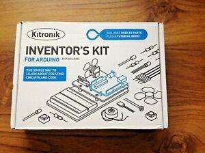 KITRONIK Inventor's Kit for the Arduino. Free UK Postage