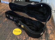 Kinsman Black pu Leather Concert Ukulele / Uke Black Hard Case