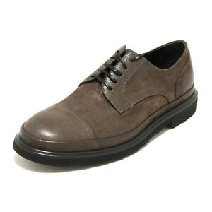 9556G scarpa derby grigia DOLCE&GABBANA D&G scarpe shoes men [43.5] 5df6Erg