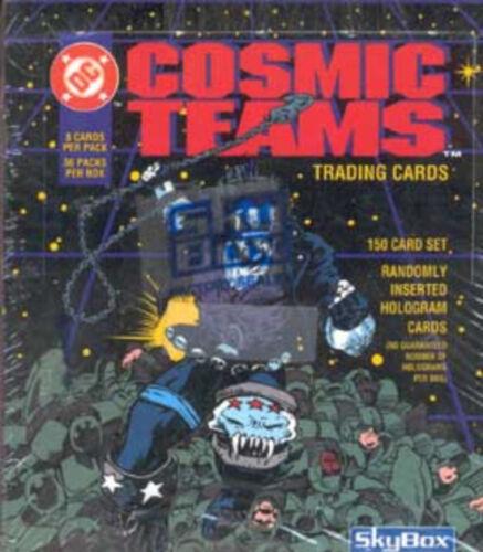 DC Cosmic Teams 36 Loose packs