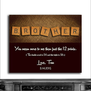 cwa 1095 personalized brother scrabble letter tiles unique gift