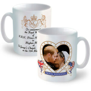 Prince Harry & Meghan Markle Royal Wedding Ceramic Mug ...