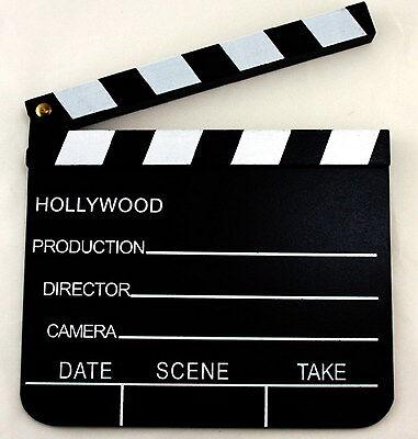 Regieklappe - Filmklappe - TV Klappe - Movieklappe - Tafel - 20 x 18 cm