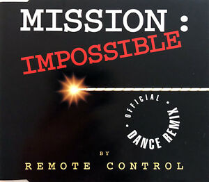 Remote-Control-Maxi-CD-Mission-Impossible-Official-Dance-Remix-France