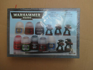 D11C47 STARTER PAINT SET DARK ANGEL WARHAMMER 40000 W40K (2011) SEALED