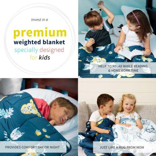 Kids Weighted Blanket 2.5kg Best for Children between 18-30kgs CalmingHeavy