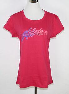 Adidas-Camiseta-para-senoras-Young-Lineage-Tee-Rosa-Brillante-Violeta
