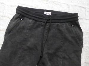 Linea-Tesini-Trousers-Pull-on-Trousers-Black-Size-46-160