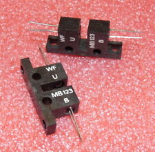 3,1mm VISHAY Optokoppler 70V CTR@If 2X TCST1103 Sensor 20/%@20mA B.Spalte