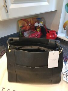 Used Ted Other With Tags But Baker Ladies Leather Handbag New Once black YFgrYXqz