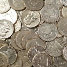 90 Silver Coin Lot Franklin Half Dollars Circulated Choose How Many