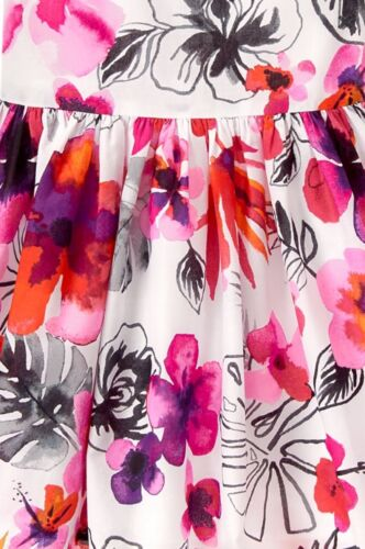 NWT Gymboree Girl Island Girl Tropical Floral Dress  Size 4 6 7 8 10