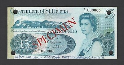1976 Kind-Hearted St.helena 5 Pounds Nd P7as Specimen Uncirculated Sale Overall Discount 50-70%