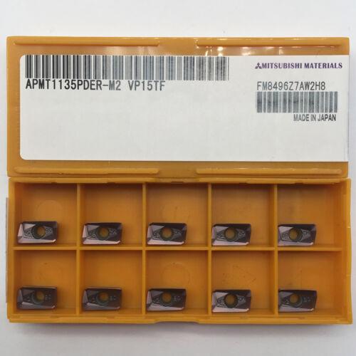 APMT1135PDER-M2 VP15TF  CNC Carbide Insert Milling Cutter APKT1135
