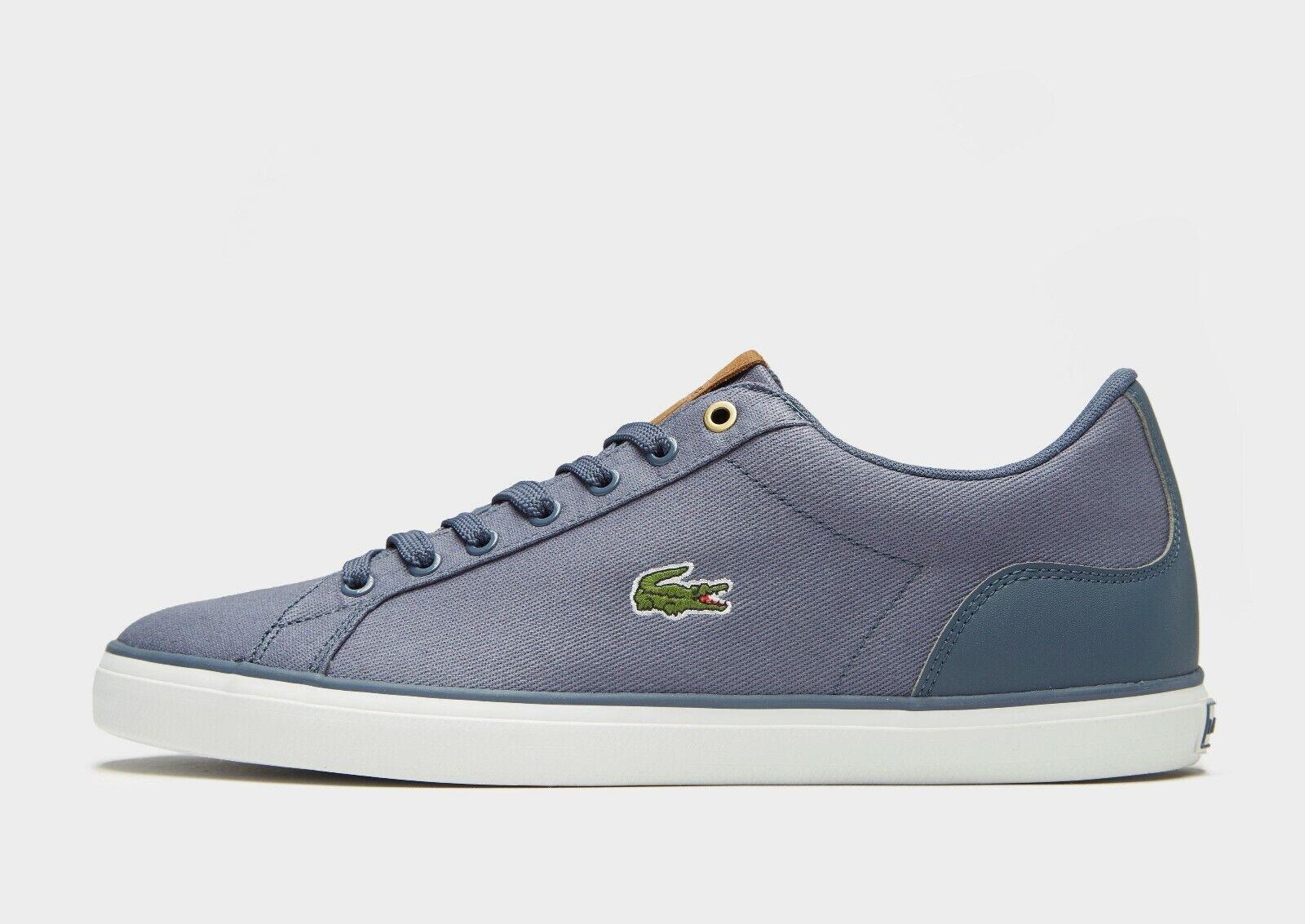Latest -LACOSTE LEROND -Men Trainer (UK 8.5 & 9 & 9.5) Cam DK bluee Brand New