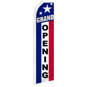 Walk In Drive Out  Advertising Flag Swooper Feather Super Flag Open Automotive