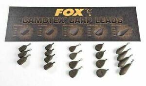 Camo plastic Coated Carp fishing back leads. Carp Back Leads 10 x 1oz approx