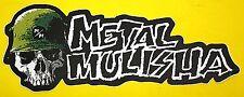 Großer Aufkleber Sticker - METAL MULISHA - 270 x 100 mm #M24