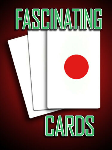 FASCINATING CARDS 3 Card Monte Bicycle Magic Set Red Dot Pocket Packet Close Up