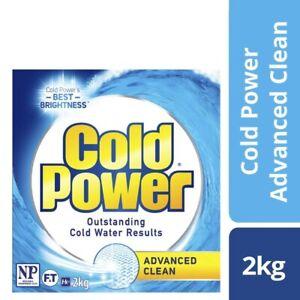 Cold Power Advanced Clean Laundry Powder 2kg