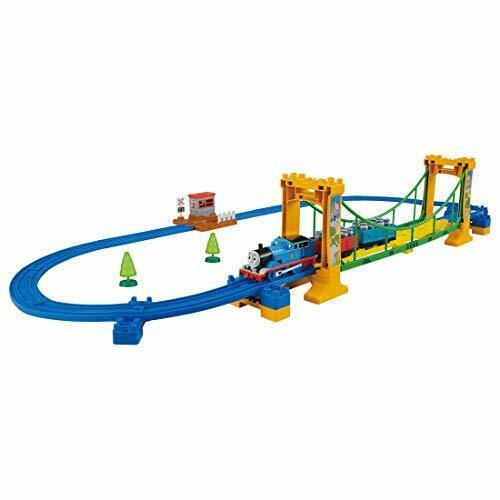 TAKARA TOMY Plarail Thomas & Friends Wobble Bridge Set w/ Tracking NEW