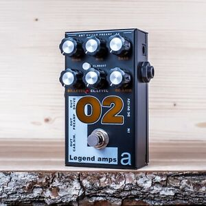 AMT-Electronics-O2-Orange-guitar-preamp-distortion-overdrive-effect-pedal