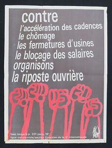 Supplement-a-ROUGE-n-25-RIPOSTE-OUVRIERE-Ligue-Communiste-Krivine-1969