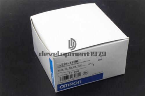 Omron Proximity Switch E2K-X15ME1 12-24VDC New