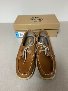 New-Sperry-Men-039-s-Intrepid-2-Eye-Leather-Top-Sider-Boat-Shoes-Pick-Size-amp-Cond