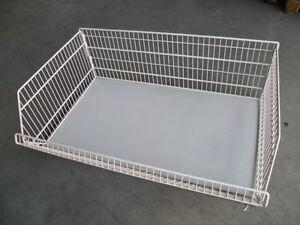 Gitterkorb-100-cm-lg-fuer-Tegometall-Fachboden-47-cm-tief-zerlegbar-juraweiss