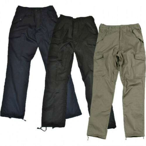 BLUE CASTLE Original Mens COMBAT Cargo Workwear Work Army Trousers OFFER PRICE