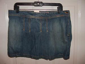 Old-Navy-Denim-Mini-Skirt-Size-12-Women-039-s-NEW-LAST-ONE