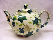 maple ivy design 6 cup teapot by Heron Cross Pottery