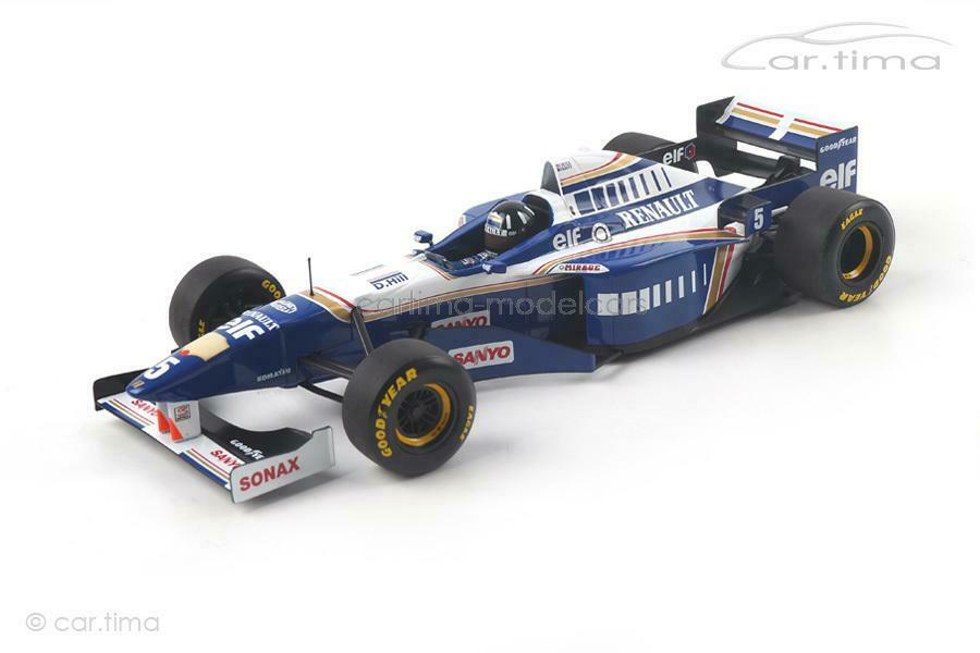 Williams renault fw18-World Champion 1996-damon hill-Minichamps - 1 18 - 1