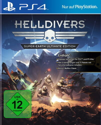 1 von 1 - Helldivers -- Super Earth Ultimate Edition (Sony PlayStation 4  NEU & OVP)