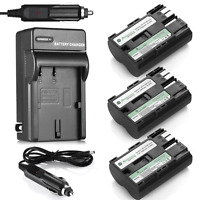 BP-511A BP-511 Battery + Charger for Canon EOS 5D 20D 30D 40D 50D BP-512 BP-514