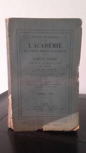Ejercicio Y Trabajo ACADEMIA Las Ciencias Morales Y Politique - 1915 - N º 2