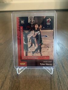 TYLER-HERRO-ROOKIE-CARD-RC-Miami-Heat-Only-1-085-made-Limited-amp-Numbered