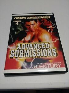 New! Frank Shamrok Advanced submissions Vol #4 DVD - submission training games