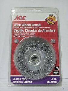 "ACE 2099646 3/"" WIRE BRUSH 2PCS AB2799-2"